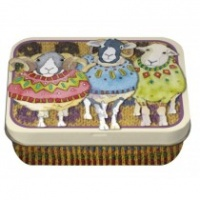 SHEEP IN SWEATERS - MINI RECTANGULAR TIN